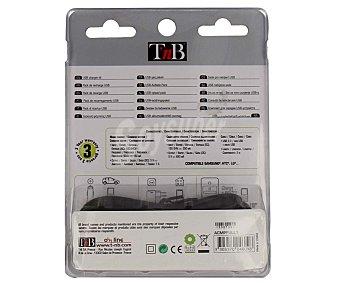 TNB ACMPFULL1 USB Cargador de corriente y coche 1A USB