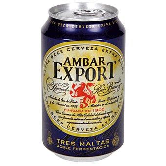 Ambar Cerveza Export Lata 33 cl