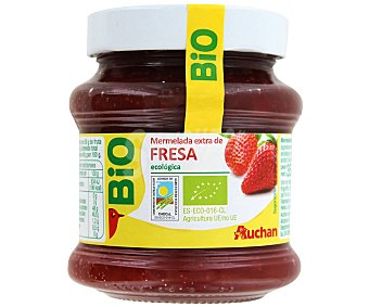Vivir Mejor Auchan Mermelada de Fresa de Agricultura Ecológica 350g