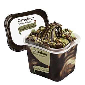 Carrefour Helado italiano de Pistacho al Gianduja 500 g