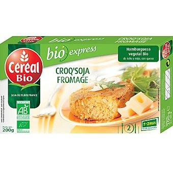 CEREAL BIO hamburguesa vegetal de tofu mijo y queso envase 200 g
