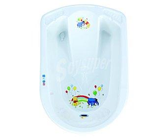 PLASTIMYR Bañera para bebés anatómica, color blanca 1 unidad
