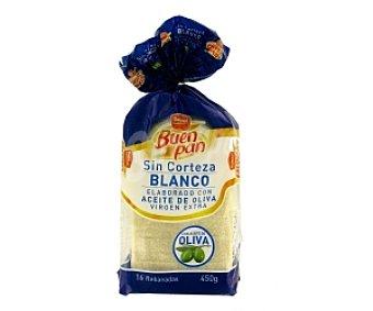 Dulcesol Pan de molde sin corteza 450 Gramos
