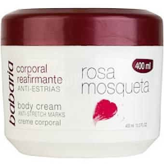 Babaria Crema corporal de rosa mosqueta Tarro 400 ml