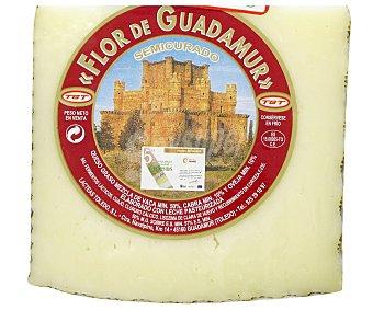 """FLOR DE GUADAMUR Queso """"mini"""" semicurado de vaca, cabra y oveja 800 Gramos"""