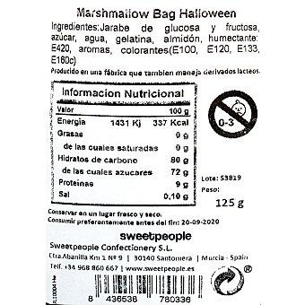 Marshmallow Halloween Envase de 125 g