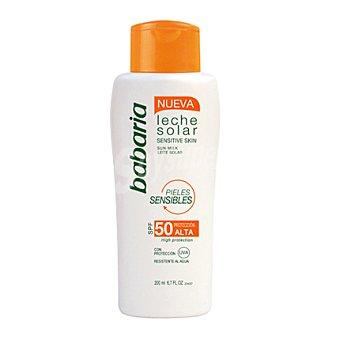 Babaria Leche solar para pieles sensibles FP-50 200 ml