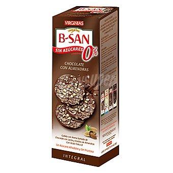 Virginias Galletas chocolate y almendras integrales b-san 110 g