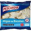 Migas de bacalao en su punto de sal estuche 250 g estuche 250 g Pescanova