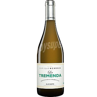LA TREMENDA Vino blanco macabeo monastrel DO Alicante Botella 75 cl