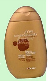 Solcare Autobronceador leche corporal Botella 250 cc