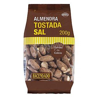 Hacendado Almendra tostada con sal (largueta) Paquete 200 g