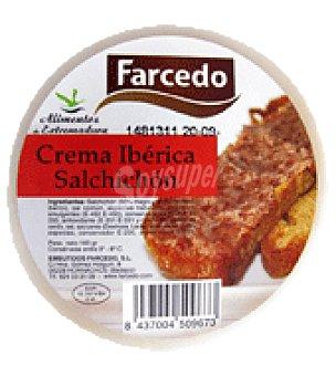 Farcedo Crema ibérica salchichón 160 g