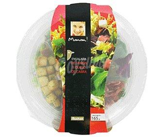Mmm Auchan Ensalada de Jamón y Queso de Cabra Ensalada Jam/Queso165g