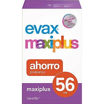 Evax Protege slips maxi plus pack ahorro Caja 56 unidades