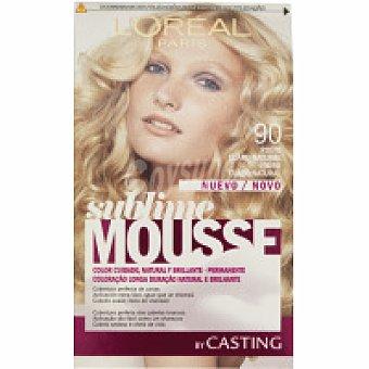 Sublime L'Oréal Paris Tinte rubio claro natural N.90 Caja 1 unid