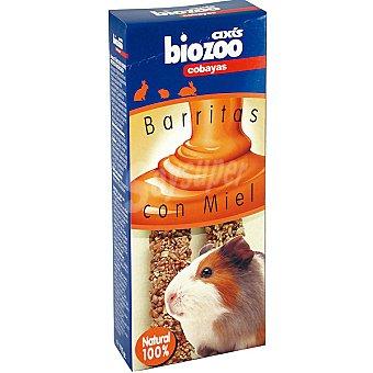 BIOZOO AXIS Barritas con miel para cobayas Envase 2 unidades