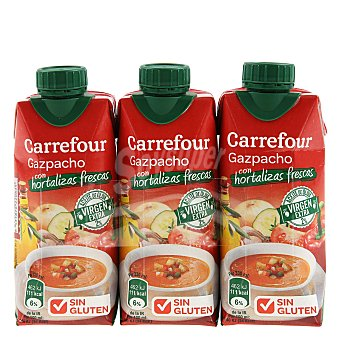 Carrefour Gazpacho - Sin Gluten Gazpacho