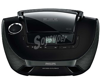 Philips Radio CD AZ1837 radio am/fm, usb, jack 3.5mm, negro radio am/fm, usb, jack 3.5mm, negro