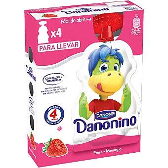Danonino Danone Street fresa 4x70g