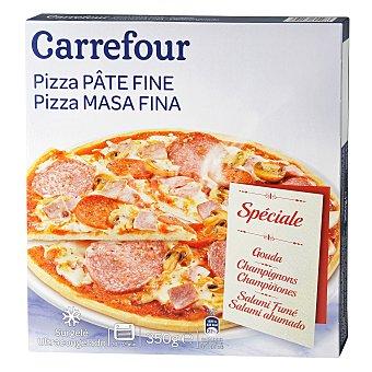 Carrefour Pizza Especial Masa Fina 350 g