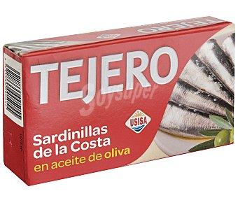 Tejero Sardinillas en aceite de oliva de la costa Lata de 85 grs