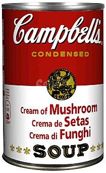 Campbell's Sopa de setas concentrada Lata 295 g