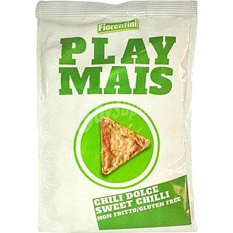 FIORENTINI Play Mais Tortitas de maíz sabor chilli dulce sin gluten Bolsa 40 g