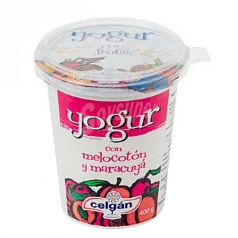 Celgan Yogur melocotón y maracuyá 400 g