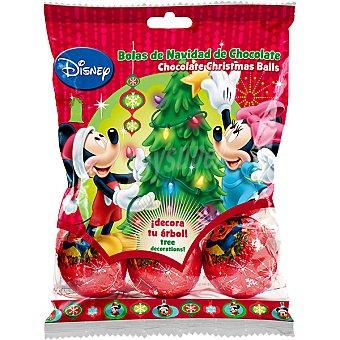 Disney Mickey Bolas de Navidad de Chocolate  bolsa 75 g