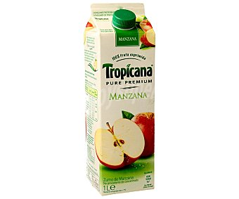 Tropicana Pure Premium Zumo de manzana Envase 1 l