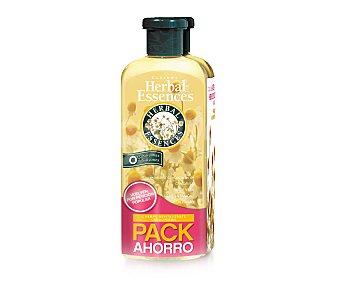 Herbal Essences Champú revitalizante para cabello normal con extractos de camomila, aloe vera y flor de la pasión 2 unidades de 200 mililitros