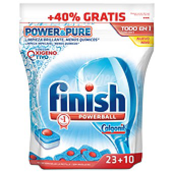 FINISH CALGONIT LAVAVAJILLA TEN1 POWER&PUR 33 DOS