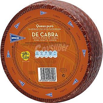 Hipercor Queso puro de cabra elaborado con leche pasteurizada peso aproximado pieza 3,2 kg 3,2 kg