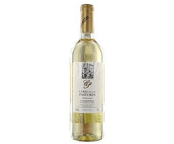 Valdepeñas Vino blanco con denominación de origen cerro DE LOS pastores Botella de 75 cl