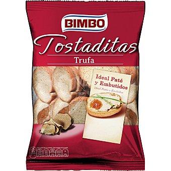 Bimbo tostaditas de trufa ideales para patés y embutidos bolsa 80 g