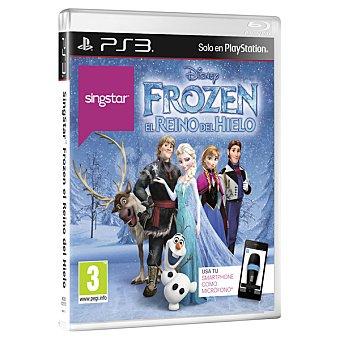 PS3 Videojuego singstar Frozen  1 Unidad