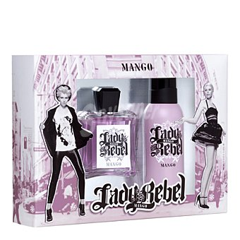 Mango Estuche Lady Rebel edt 100 vaporizador + deo 150 1 ud