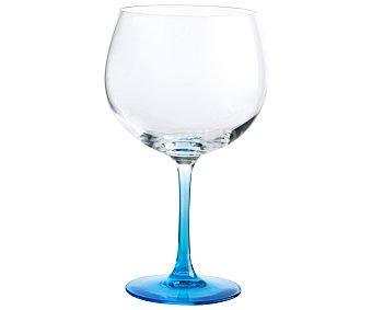 Luminarc Copa de balón para combinados con pie de color Gin, azul, , Fiesta luminarc 71,5 cl.