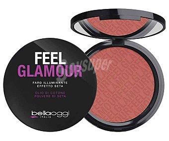BELLAOGGI FEEL GLAMOUR Maquillaje compacto en polvo efecto iluminador tono 002