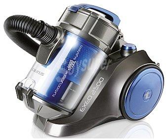 TAURUS EXEO 2500 Aspirador sin bolsa, potencia 800w, ciclónico, filtro Hepa, capacidad del depósito 3,5 litros