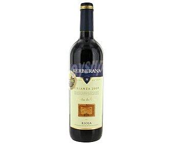 """Berberana Vino tinto D.O.C. Rioja Crianza """" Carta de Oro """" Botella de 75 cl"""
