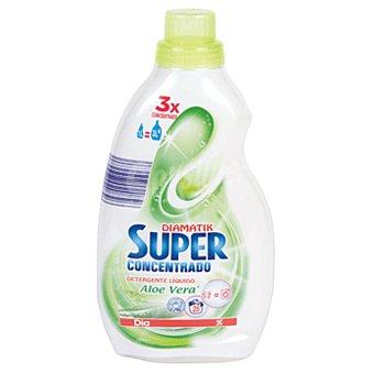 DIA Detergente máquina líquido aloe vera concentrado botella 1 lt 1 lt