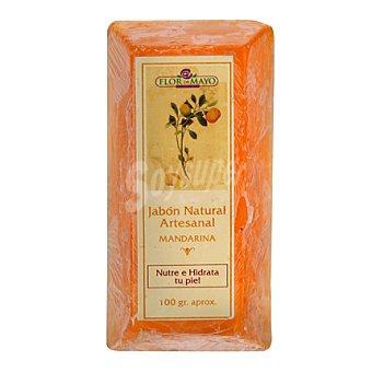 Flor de Mayo Lingote de jabón mandarina 100 g