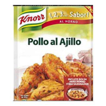 Knorr Sazonador de pollo al ajillo 33 GRS