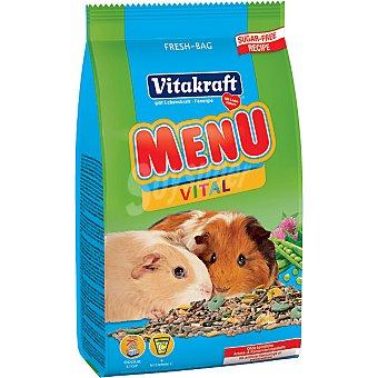 Vitakraft Alimento completo para cobayas menu vital Envase de 1 kg
