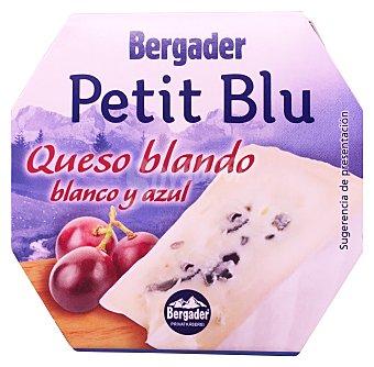 Bergader Queso blanco y azul blando petit blu Paquete de 150 g