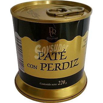 Real Carolina Paté con perdiz lata 220 g lata 220 g