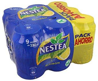 Nestea Nestea Limón 9 latas de 33 cl