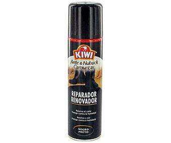 Kiwi Reparador Negro Para Ante Y Nubuck Negro 250 Mililitros